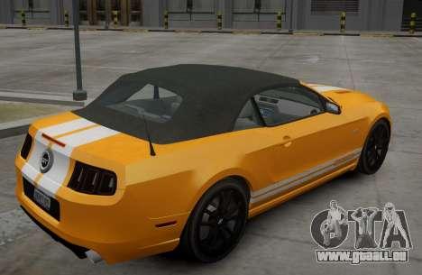 Ford Mustang GT Convertible 2013 für GTA 4 rechte Ansicht