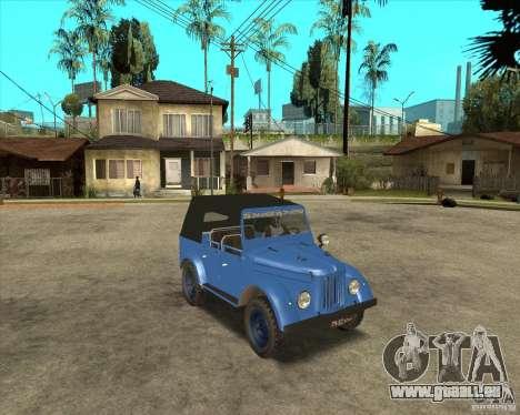 GAZ 69 A pour GTA San Andreas laissé vue