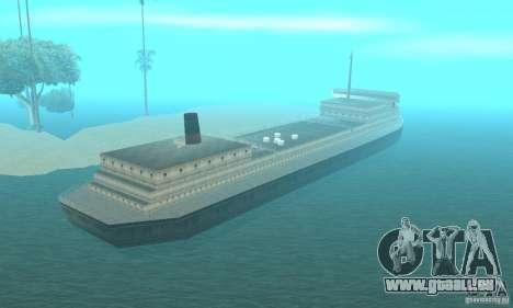 Lost Island pour GTA San Andreas troisième écran