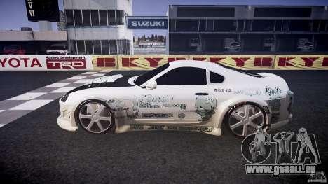 Toyota Supra ProStreet Style für GTA 4 linke Ansicht