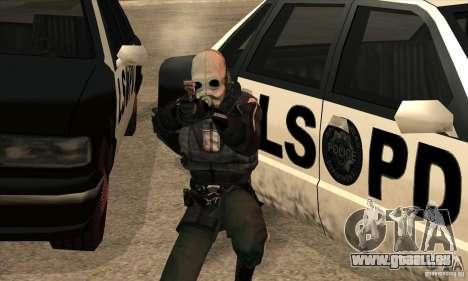 Police Man pour GTA San Andreas cinquième écran