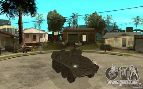 TTB de COD MW2 pour GTA San Andreas vue intérieure
