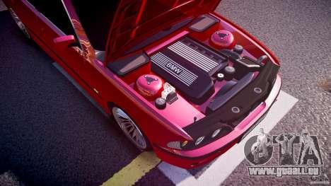 BMW 530I E39 stock chrome wheels für GTA 4 Unteransicht