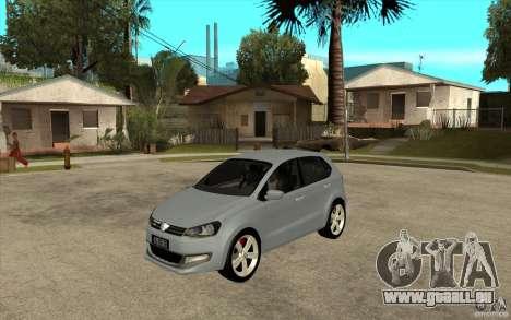 Volkswagen Polo 2011 pour GTA San Andreas