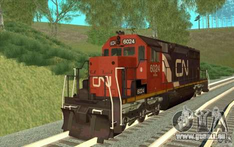 Canadian National SD40U pour GTA San Andreas