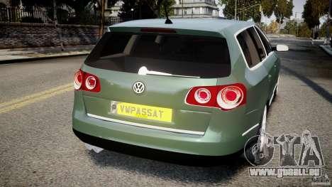 Volkswagen Passat Variant R50 pour GTA 4 Vue arrière de la gauche