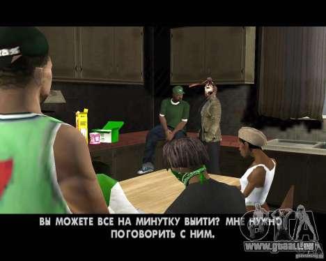 Jason Voorhees pour GTA San Andreas dixième écran