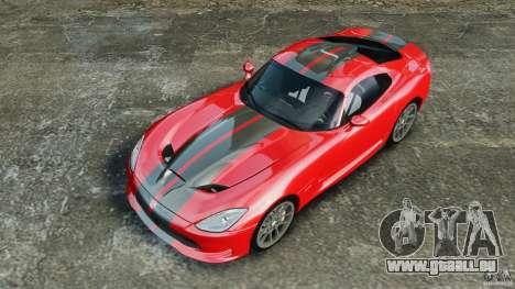 SRT Viper GTS 2013 pour GTA 4
