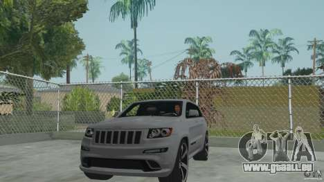 Jeep Grand Cherokee SRT8 2013 pour GTA San Andreas