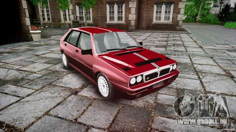 Lancia Delta HF Integrale Dealers Collection pour GTA 4 est un droit