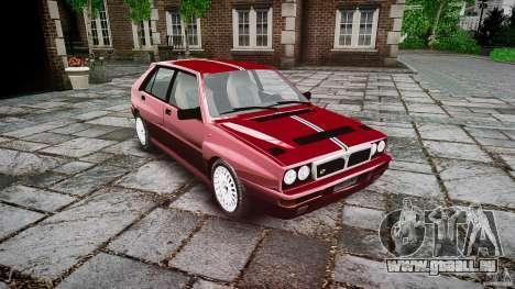 Lancia Delta HF Integrale Dealers Collection pour GTA 4 est un droit