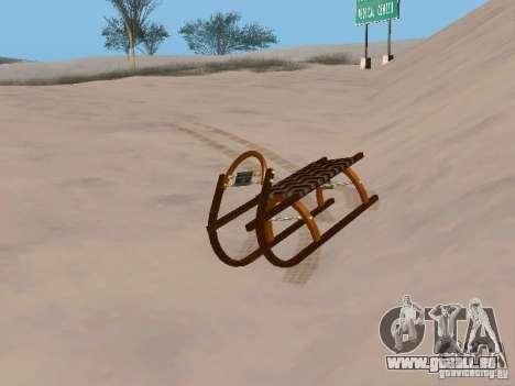 Luge v2 pour GTA San Andreas laissé vue