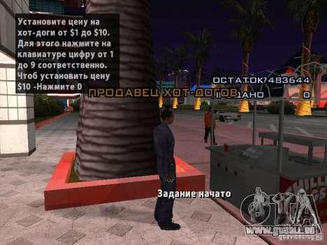 Vendeur de Hot-Dog pour GTA San Andreas