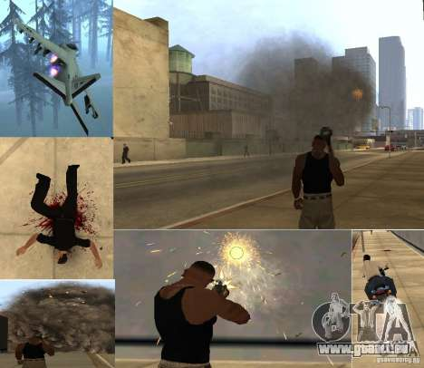 Overdose Effects v 1.4 für GTA San Andreas her Screenshot