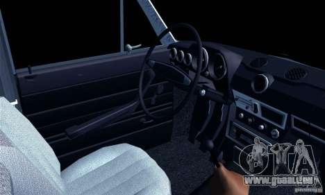 VAZ 2106 Hobo pour GTA San Andreas sur la vue arrière gauche
