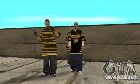 Remplacer toutes les apparences de gangs de Los  pour GTA San Andreas quatrième écran