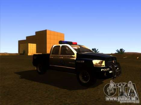 Dodge Ram 1500 Police pour GTA San Andreas