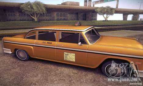 Cabbie HD für GTA San Andreas linke Ansicht