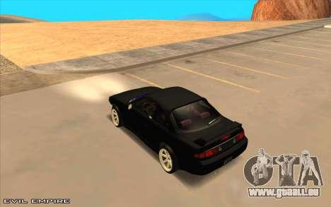 Nissan Silvia s14 Tuned Drift v0.1 für GTA San Andreas linke Ansicht