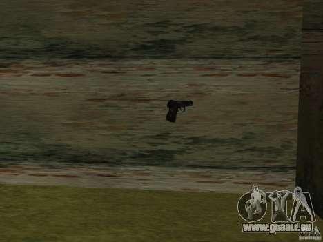 Pak version domestique armes 2 pour GTA San Andreas troisième écran