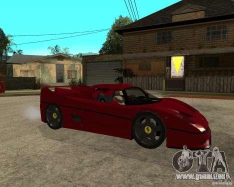 Ferrari F50 - style DTM TUNING für GTA San Andreas rechten Ansicht