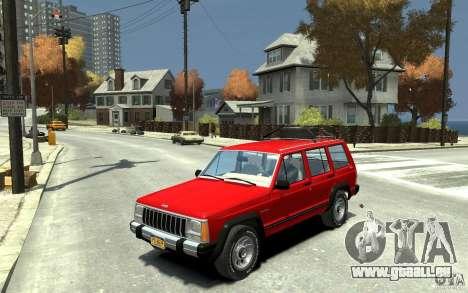 Jeep Cherokee 1984 pour GTA 4