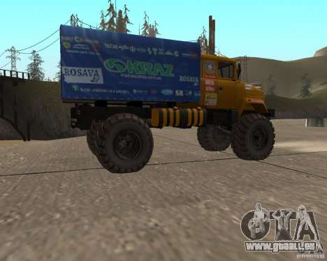 KrAZ Monster pour GTA San Andreas laissé vue