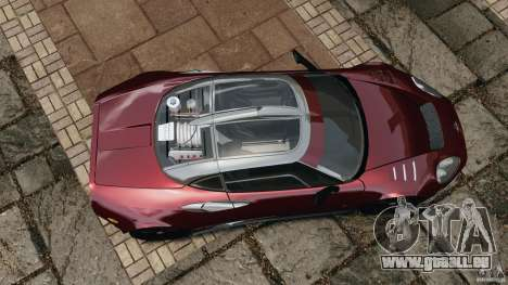 Spyker C8 Laviolette LM85 pour GTA 4 est un droit
