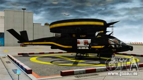 Hubschrauber mit SA-2 Samson für GTA 4 linke Ansicht
