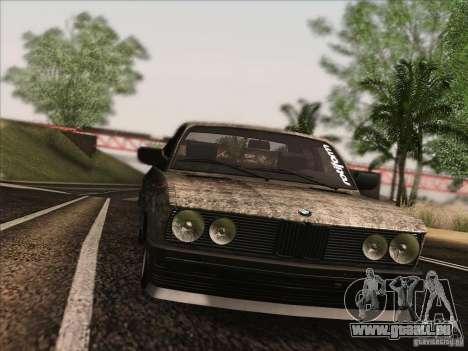 BMW E28 525E RatStyle pour GTA San Andreas vue de côté