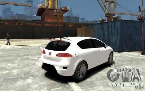 Seat Leon Cupra Light Tuning für GTA 4 rechte Ansicht