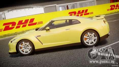 Nissan GT-R R35 2010 v1.3 pour GTA 4 est une gauche