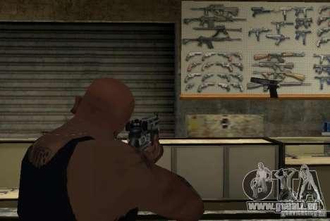 M14 EBR de la Killing Floor pour GTA San Andreas quatrième écran