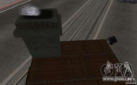 Poêle pour GTA San Andreas vue de droite