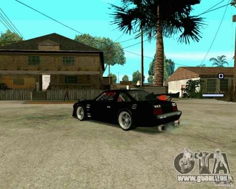 Hotring Racer Tuned für GTA San Andreas rechten Ansicht