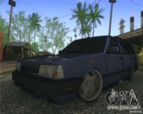 Tofas Kartal SLX pour GTA San Andreas laissé vue