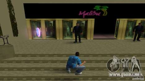 Nouvelles textures Malibu Club GTA Vice City pour la troisième écran