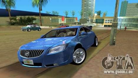 Buick Regal pour GTA Vice City sur la vue arrière gauche
