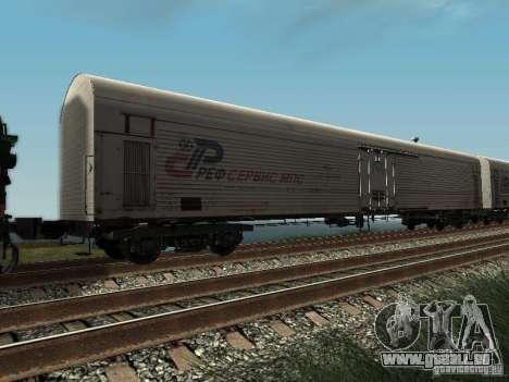 Refrežiratornyj wagon Dessau no 2 pour GTA San Andreas