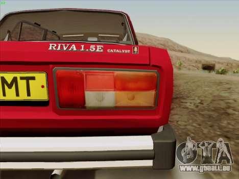 LADA 2105 RIVA (exportation) 2.0 pour GTA San Andreas vue de côté