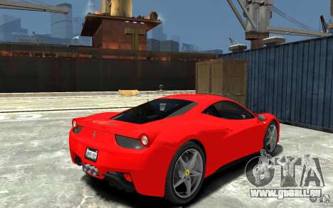 Ferrari 458 Italia 2010 v3.0 pour GTA 4 est un droit