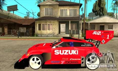 Suzuki Escudo Pikes Peak V2.0 für GTA San Andreas linke Ansicht
