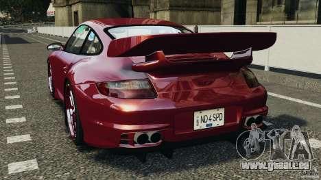 Porsche 997 GT2 Body Kit 1 für GTA 4 hinten links Ansicht