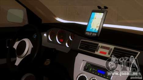 Mitsubishi Lancer Evolution IIIV pour GTA San Andreas vue arrière
