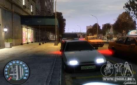 VAZ 2109 Dagestan tuning für GTA 4 linke Ansicht