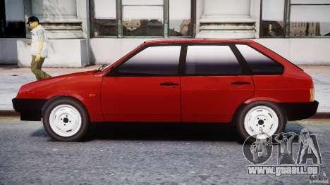 VAZ-21093i für GTA 4 hinten links Ansicht