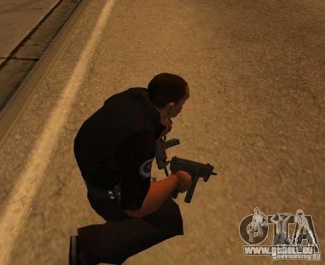 Pak domestique armes améliorés pour GTA San Andreas troisième écran
