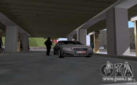 Voiture de citerne à gaz station pour GTA San Andreas