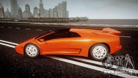Lamborghini Diablo 6.0 VT für GTA 4 linke Ansicht