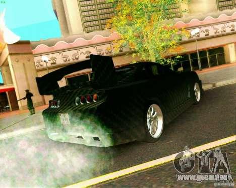 Toyota Supra Carbon pour GTA San Andreas laissé vue